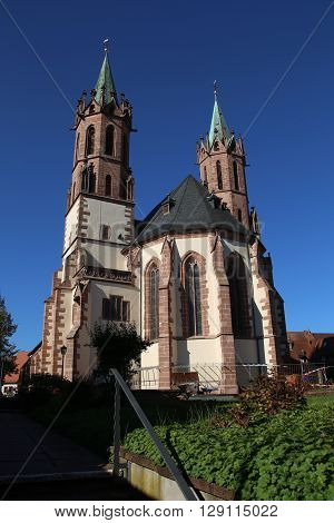View of the Catholic Church from