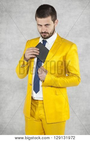 Portrait Of A Man With A Bribe