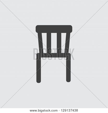Chair icon illustration isolated vector sign symbol