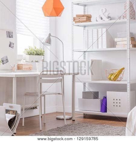 Cosy White Design Room