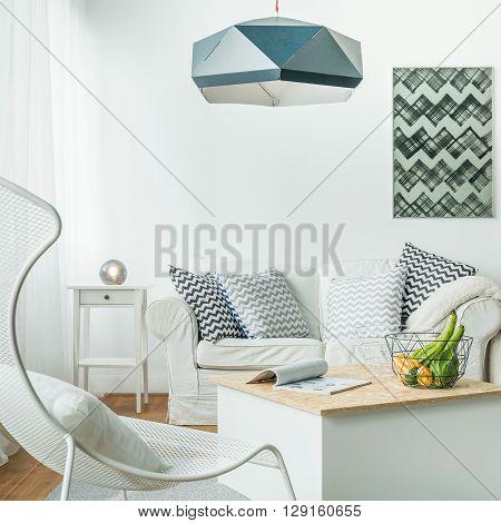 Metal Furniture In Living Room