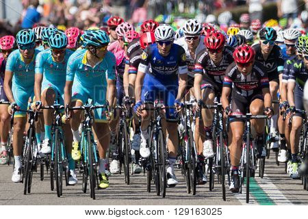 Cyclists Giro Italia