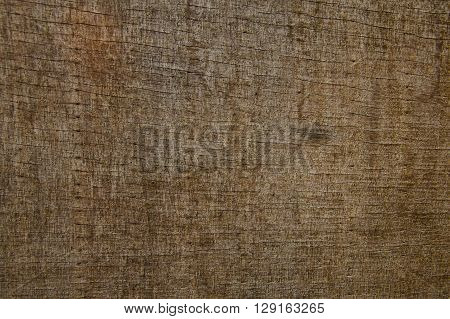 Plywood that have texture on brown color.