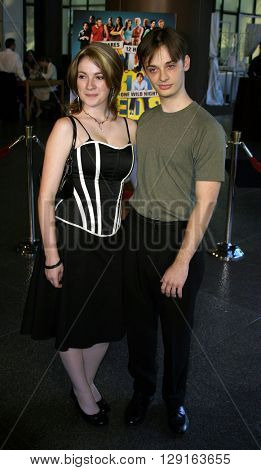 Fred Meyers and Melissa Berard at the World premiere of