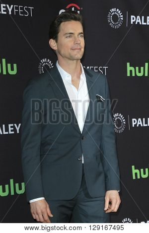 LOS ANGELES - MAR 20:  Matt Bomer at the PaleyFest 2016 - American Horror Story: Hotel at the Dolby Theater on March 20, 2016 in Los Angeles, CA