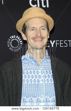 LOS ANGELES - MAR 20:  Denis O'Hare at the PaleyFest 2016 - American Horror Story: Hotel at the Dolby Theater on March 20, 2016 in Los Angeles, CA