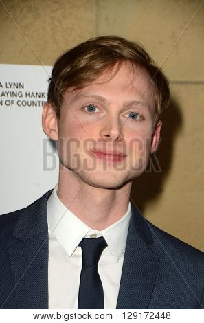 LOS ANGELES - MAR 22:  Joshua Brady at the I Saw the Light LA Premiere at the Egyptian Theatre on March 22, 2016 in Los Angeles, CA