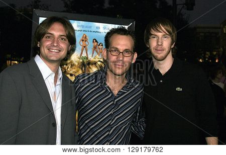 Will Friedle, Gary Preisler and Chris Owen at the Los Angeles premiere of