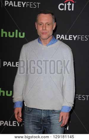 LOS ANGELES - MAR 19:  Jason Beghe at the PaleyFest 2016 - Dick Wolf Salute at the Dolby Theater on March 19, 2016 in Los Angeles, CA