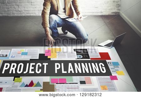 Project Planning Estimate Forecast Predict Task Concept