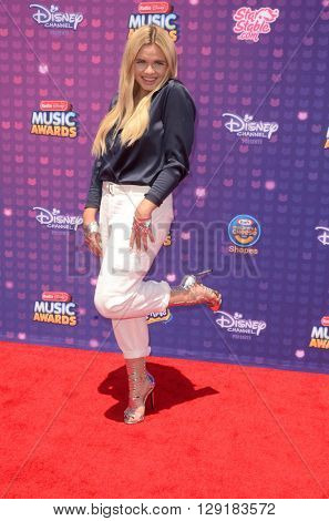 LOS ANGELES - APR 29:  Alli Simpson at the 2016 Radio Disney Music Awards at the Microsoft Theater on April 29, 2016 in Los Angeles, CA