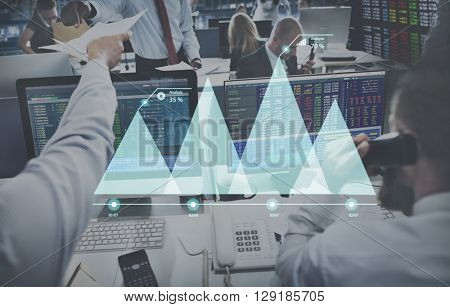 Business Working Finance Stock Concept