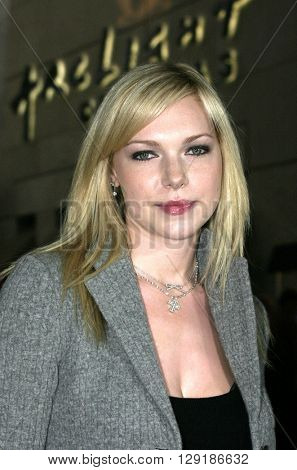 Laura Prepon at the Los Angeles premiere of 'Vlad' at the Arclight Cinemas in Hollywood, USA on September 8, 2004.
