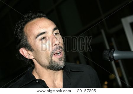 Francesco Quinn at the Los Angeles premiere of 'Vlad' at the Arclight Cinemas in Hollywood, USA on September 8, 2004.