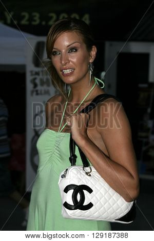 Catalina Guriado at the Los Angeles premiere of 'Vlad' at the Arclight Cinemas in Hollywood, USA on September 8, 2004.