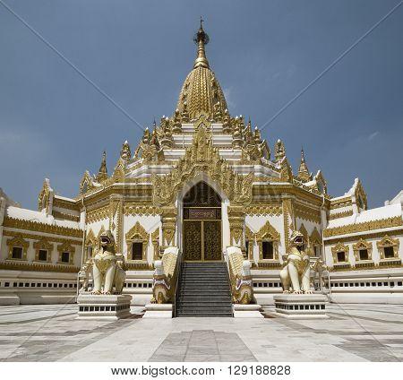 Swe Taw Myat, Buddha Tooth Relic Pagoda,Yangon, Myanmar