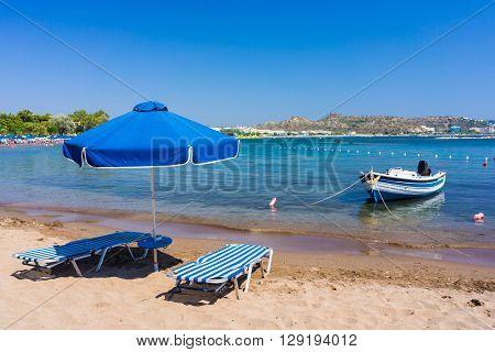 Faliraki Beach Rhodes