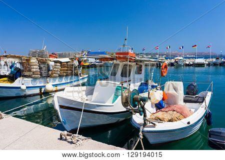 Faliraki Harbour Rhodes