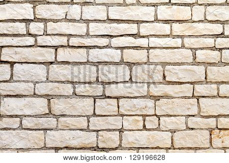 A picture of a big stone wall