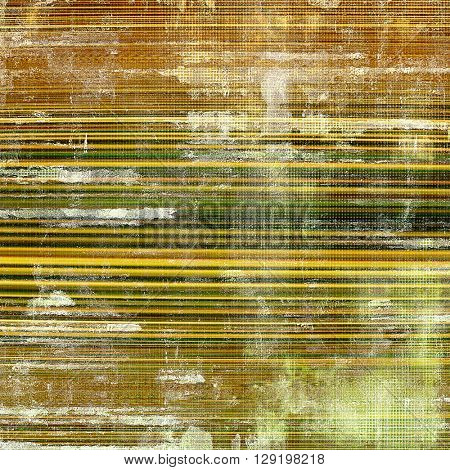 Colorful grunge background, tinted vintage style texture. With different color patterns: yellow (beige); brown; green; gray; white