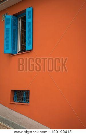 Bright Colored Houses In Argostoli