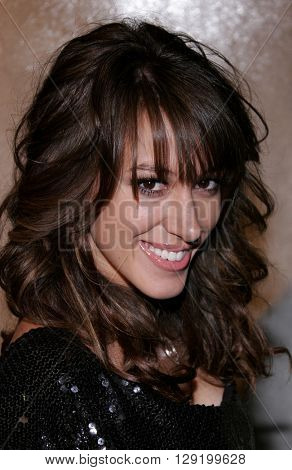 Haylie Duff at Hilary Duff's 18th Birthday Party at the Club Mood in Hollywood, USA on September 28, 2005.