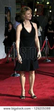 Jodie Foster at the Los Angeles premiere of