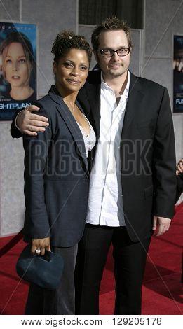 Robert Schwentke and Judith Scott at the Los Angeles premiere of