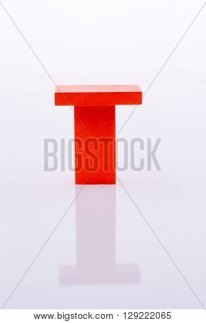 Red Color Dominoes on a white background