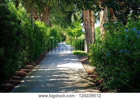 Beautiful Scenic Bike Path