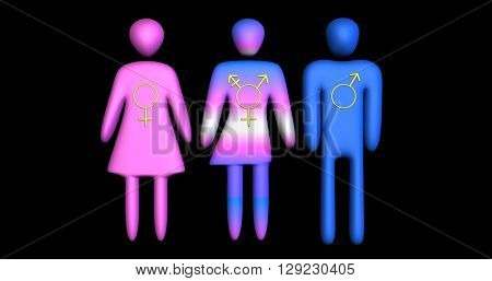 Transgender equality, symbol, icon, equality, acceptance, representation, rights