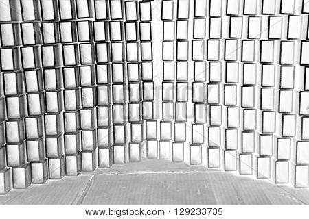 abstract of metal angle texture for background used