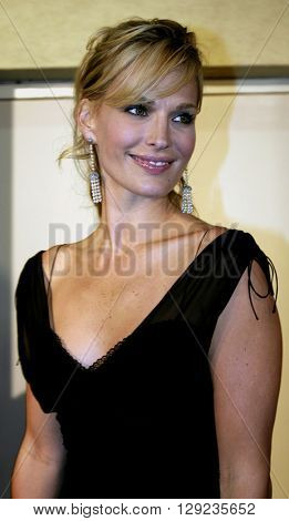 Molly Sims at the TV Guide and Inside TV 2005 Emmy After Party at the Roosevelt Hotel in Hollywood, USA on September 18, 2005.