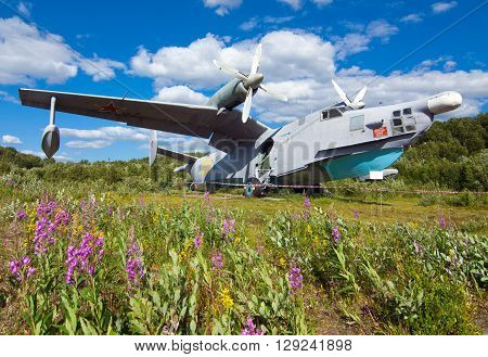 ASW amphibious aircraft Be - 12