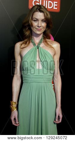Ellen Pompeo at the TV Guide and Inside TV 2005 Emmy After Party at the Roosevelt Hotel in Hollywood, USA on September 18, 2005.