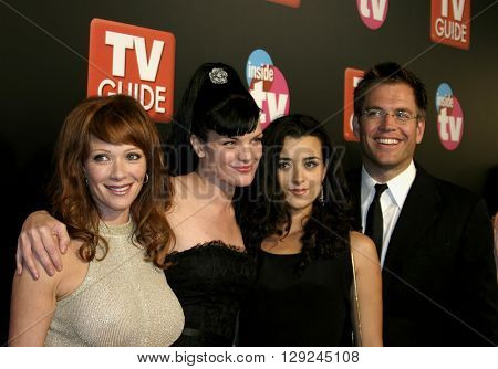 Lauren Holly at the TV Guide and Inside TV 2005 Emmy After Party at the Roosevelt Hotel in Hollywood, USA on September 18, 2005.