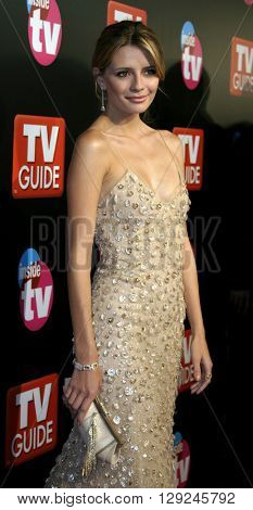 Mischa Barton at the TV Guide and Inside TV 2005 Emmy After Party at the Roosevelt Hotel in Hollywood, USA on September 18, 2005.