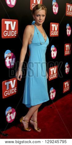 Katie Cassidy at the TV Guide and Inside TV 2005 Emmy After Party at the Roosevelt Hotel in Hollywood, USA on September 18, 2005.