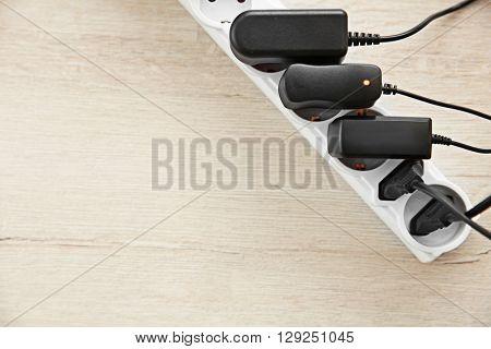 Loaded power strip