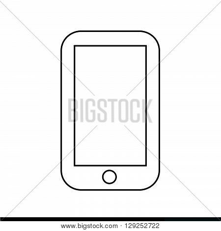 an images of Cellphone Icon Illustration design