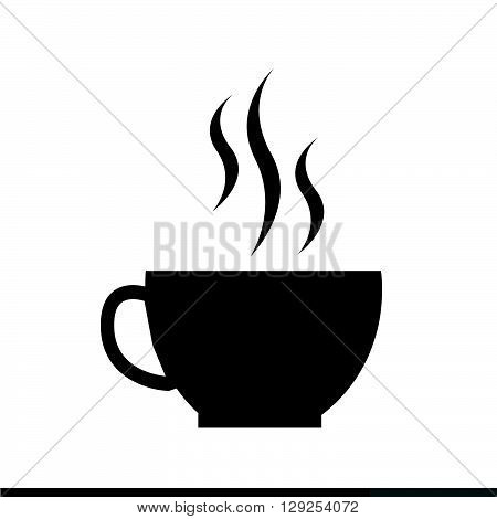 an images of coffee cup icon Illustration design