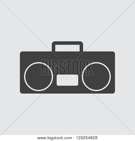 Tape recorder icon illustration isolated vector sign symbol