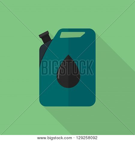 Petrol can icon illustration isolated vector sign symbol