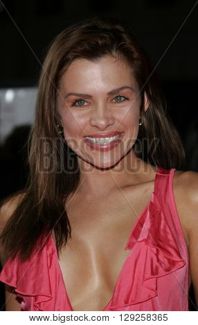 Alicia Arden at the Los Angeles premiere of