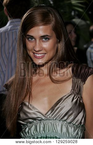 Katie Chonocas at the Los Angeles premiere of