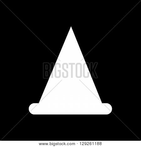 an images of traffic cone icon Illustration design