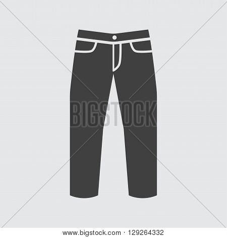 Jeans icon illustration isolated vector sign symbol