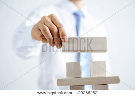 Concept of business hierarchy and human resources