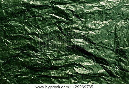 Green Plastic Bag Texture.