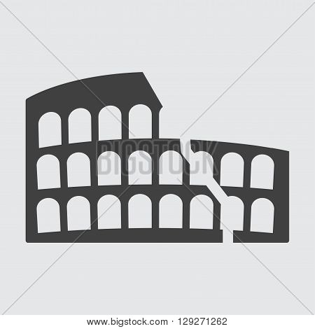 Colosseum icon illustration isolated vector sign symbol
